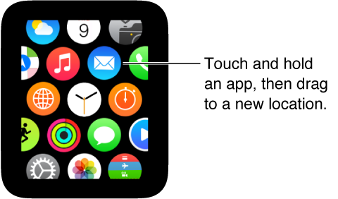 Move Apple Watch Apps