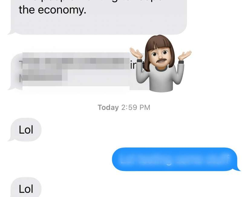 How to react to text messages with Memoji stickers on iPhone and iPad.