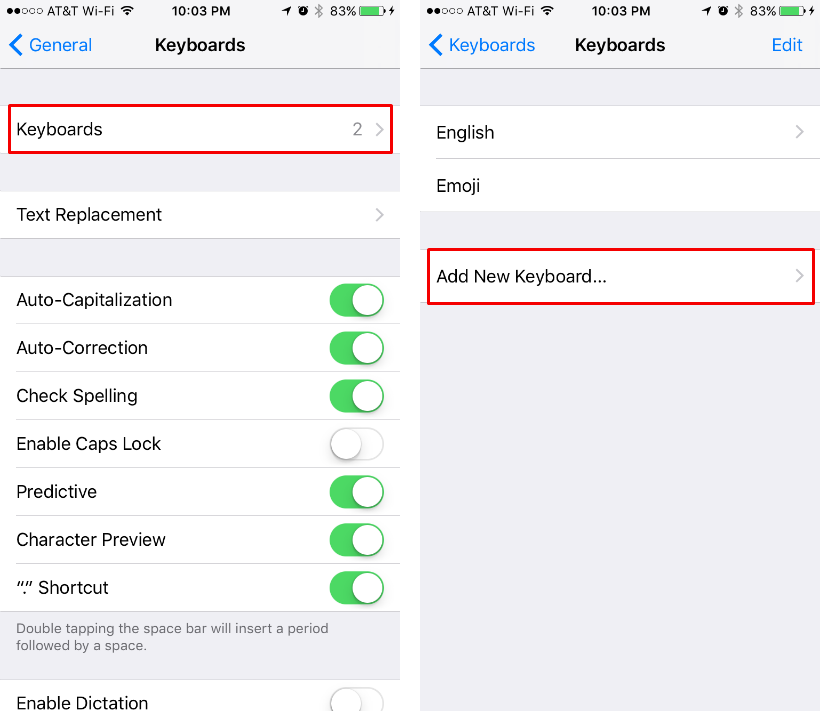 How to set up a multi-language keyboard on iPhone or iPad.