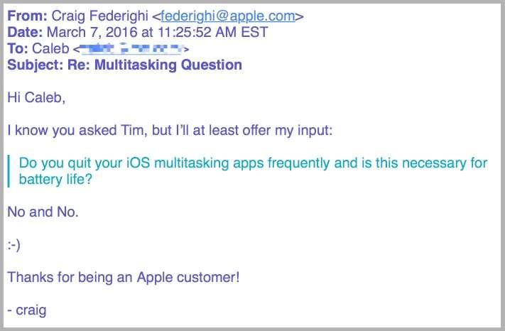 Apple iOS chief Craig Federighi