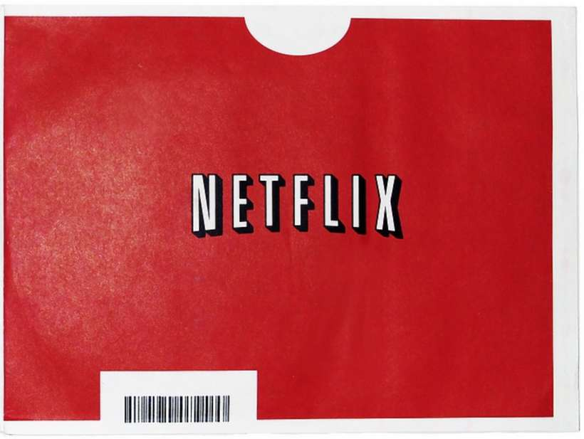 Netflix DVD envelope