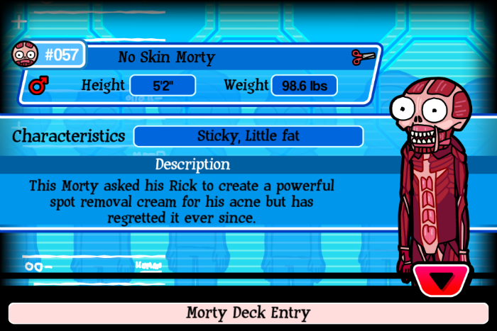 No Skin Morty