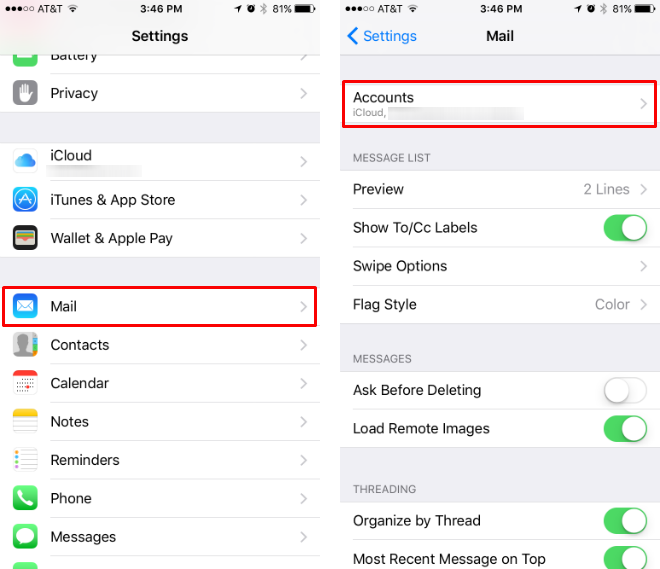 How to sync iPhone Notes with Microsoft Exchange.