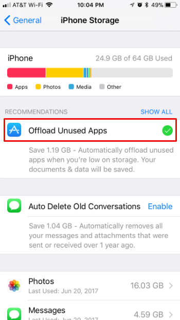 How to increase iPhone and iPad storage by offloading apps in iOS 11