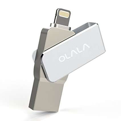 OLALA 64GB USB 3.0 Flash Drive Stick with Lightning Connector for iPhone