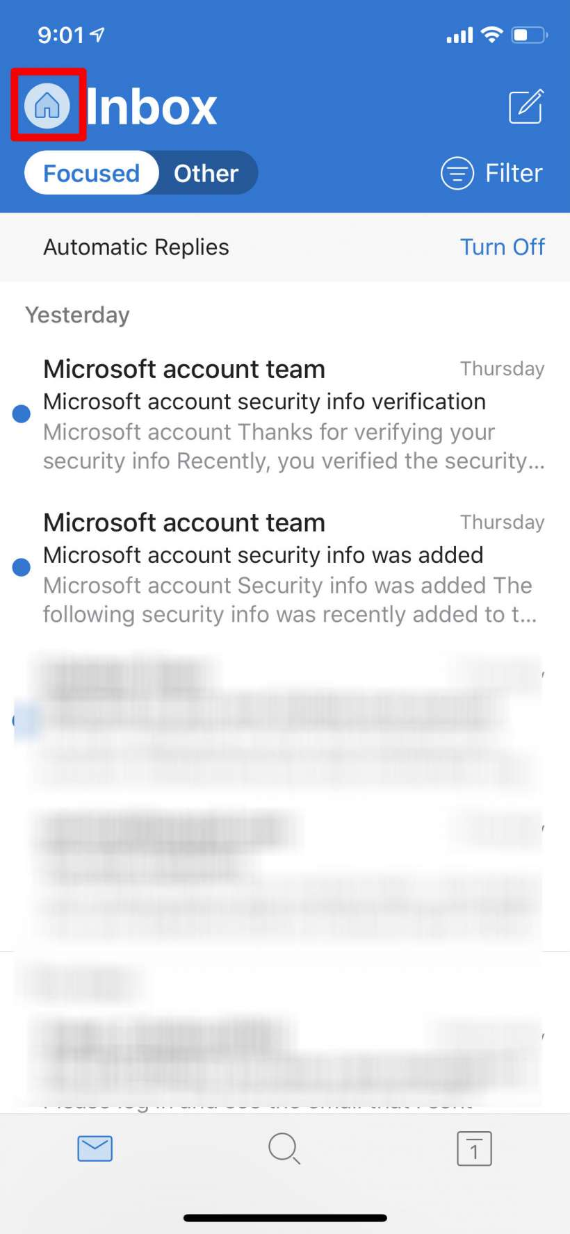 How to set up an out-of-office reply for Outlook on iPhone, iPad and Mac.