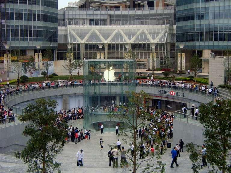 Apple Store Shanghai.
