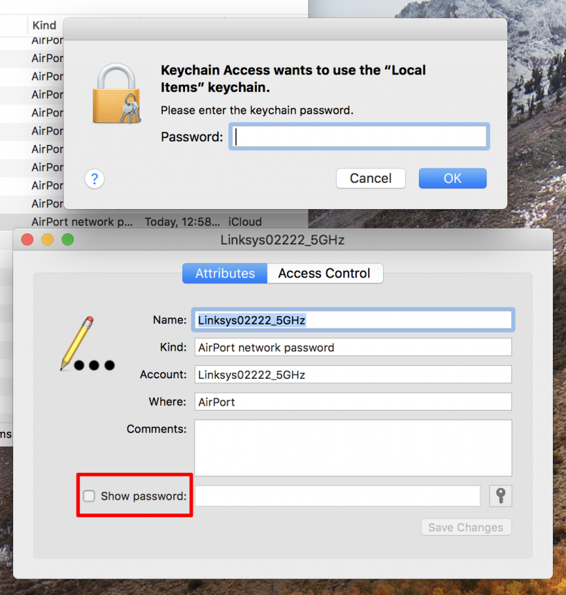 How to view your iPhone's stored Wi-Fi passwords on your Mac with Keychain Access.