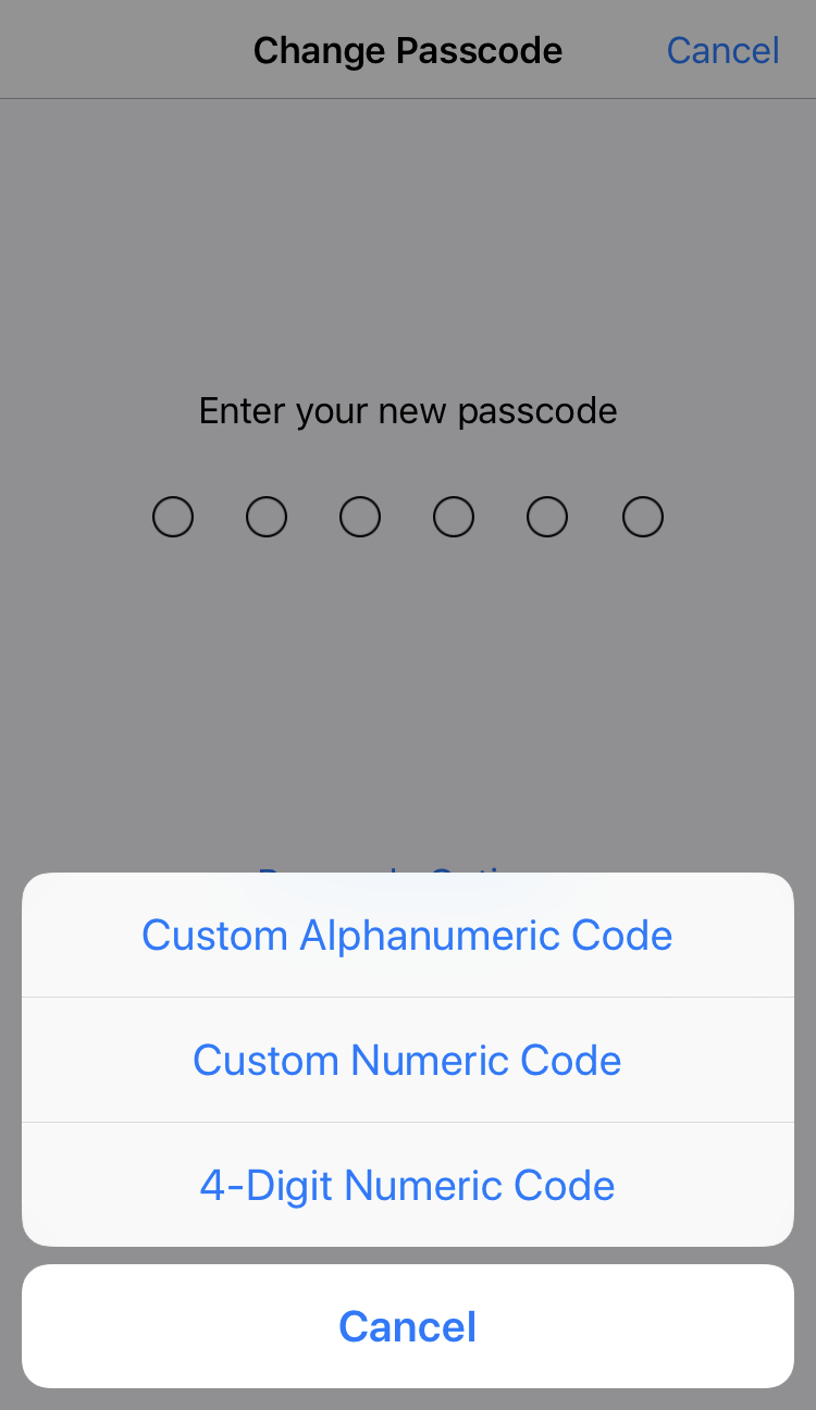 how to get by passcode on iphone 4