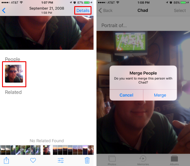 How to use Photos' People album in iOS 10.