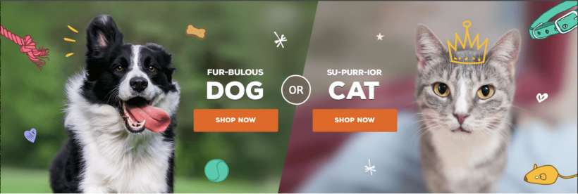 How to order dog / cat / pet food online from iPhone and iPad.