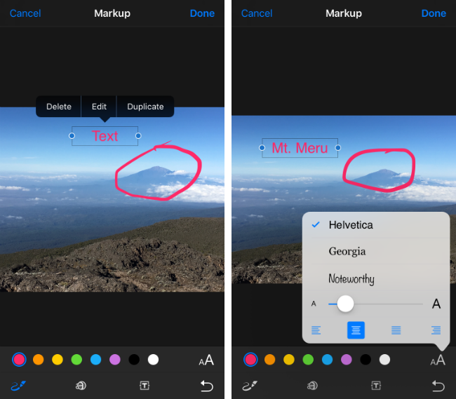 How to use Markup on your photos in iOS 10.