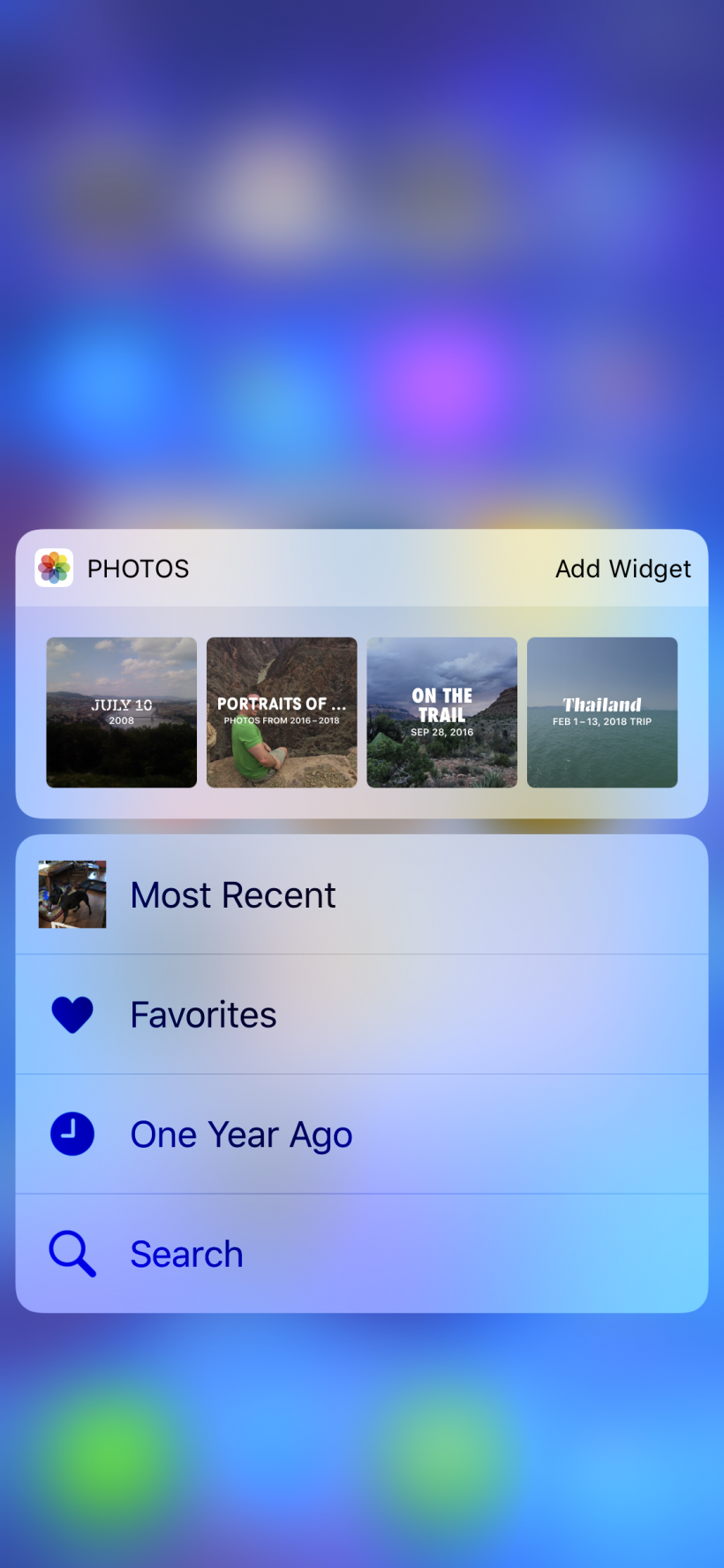 How to quickly see your photos from a year ago on iPhone and iPad.