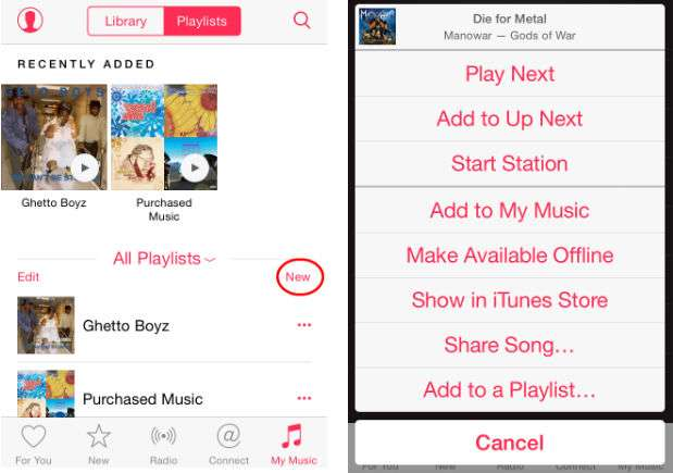 How Do I Create An Le Music Playlist The Iphone Faq
