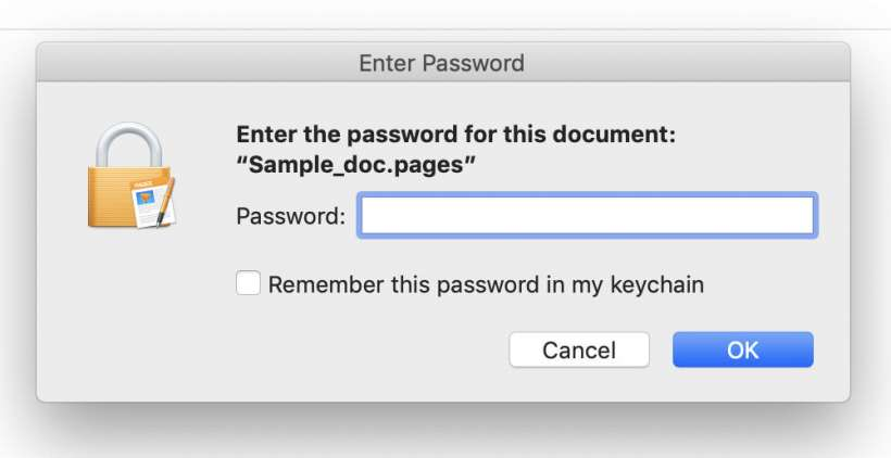 How to require a password for Pages, Numbers and Keynote documents on iPhone and iPad.