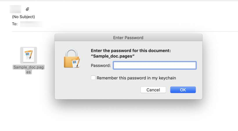 How to password protect Pages, Numbers and Keynote documents on iPhone and iPad.