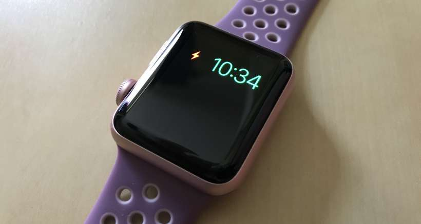 Apple watch wont turn on after power reserve