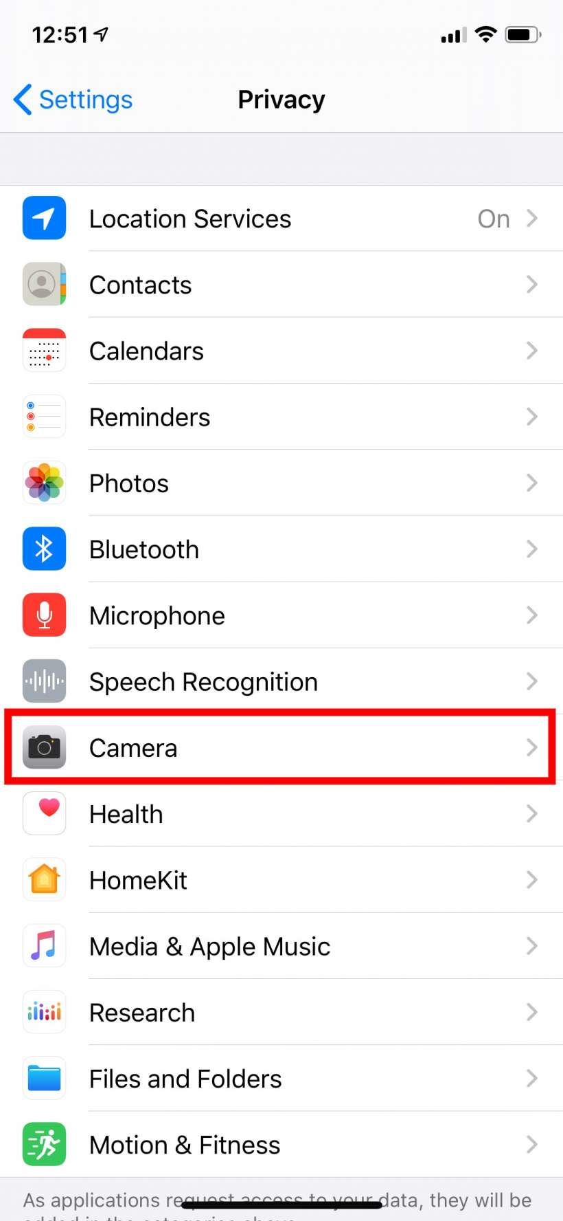 How to see which apps have access to your iPhone's or iPad's camera and microphone.
