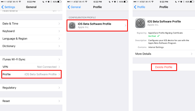 How to remove the iOS Beta Software Profile from your iPhone.