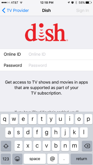 How to set up single sign-on for television providers on your iPhone.