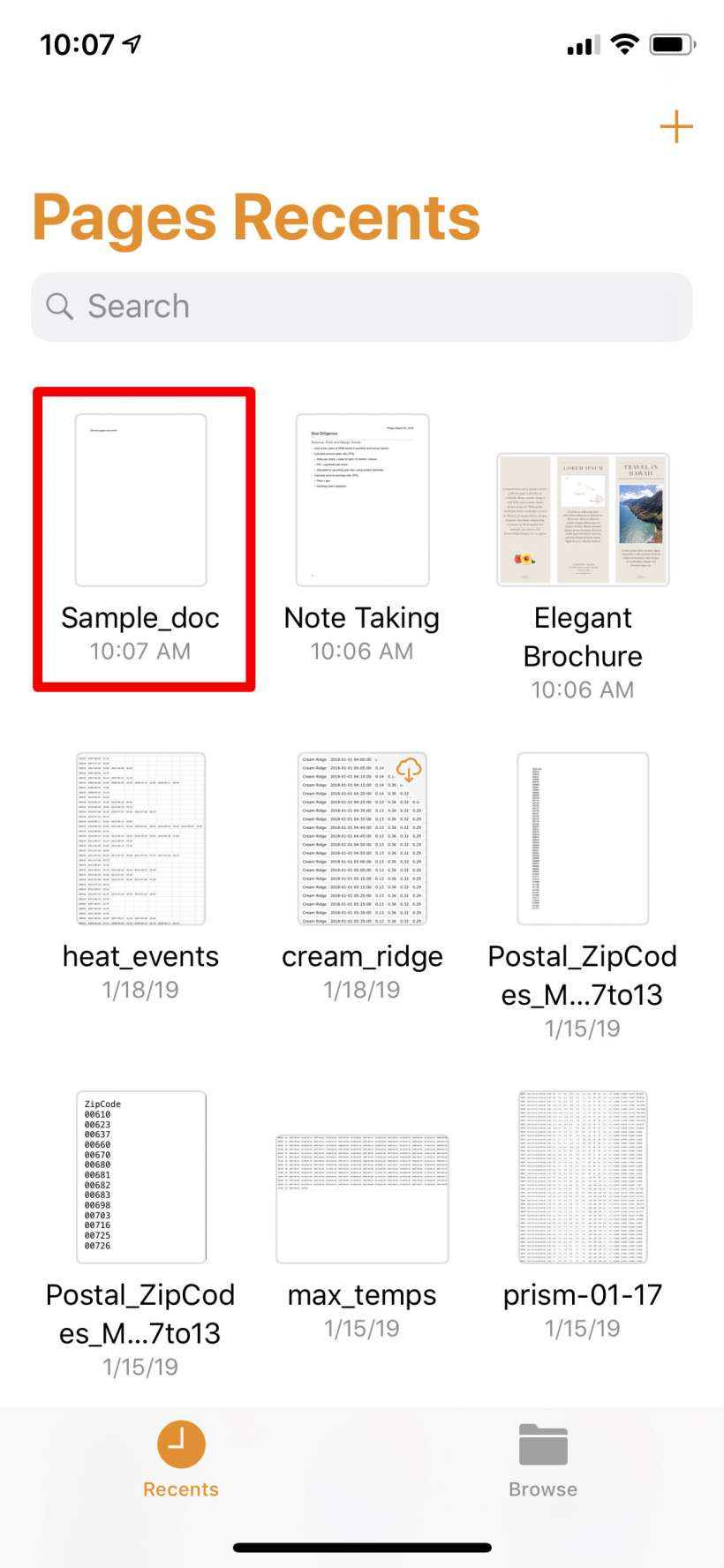 How to convert Pages files to Word files on iPhone, iPad and