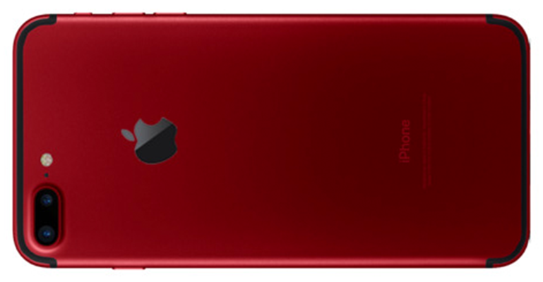 iPhone 7 Plus red concept