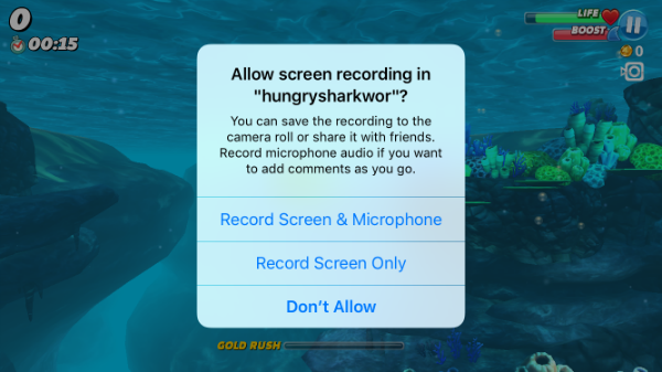 How to record your iPhone games with ReplayKit.