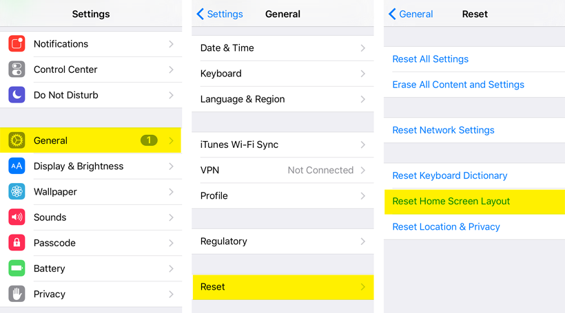 Home Layout App how do i reset the iphone home screen layout? | the iphone faq