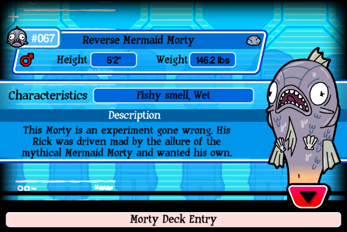 Reverse Mermaid Morty