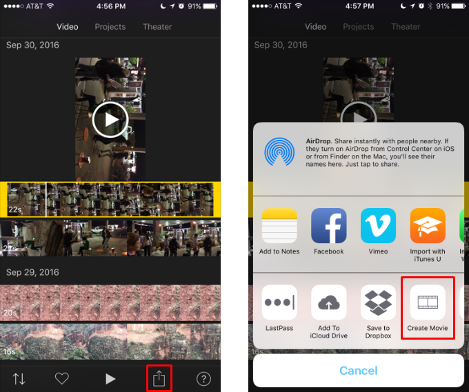 How to rotate iphone videos the iphone faq how to change the orientation of an iphone video ccuart Images