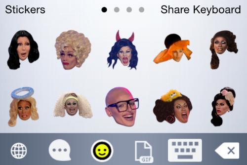 iOS App of the Week: RuPaul's Drag Race Keyboard | The