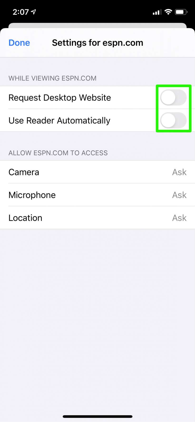 How to customize individual web pages in Safari on iPhone and iPad.