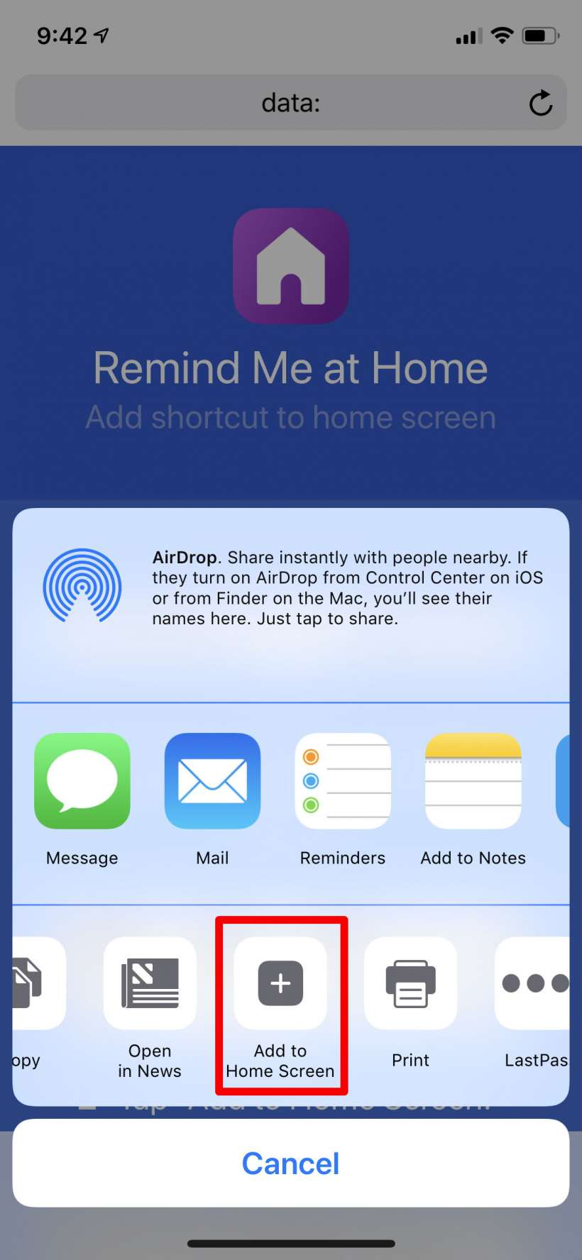 How to make Home Screen icons for your iPhone and iPad shortcuts.