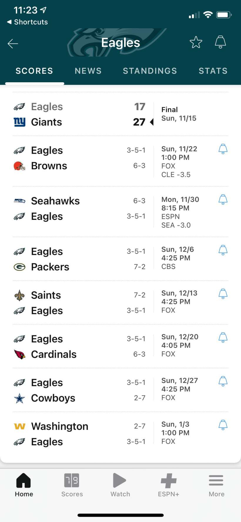 How to quickly check your favorite team's game score with Back Tap on iPhone.