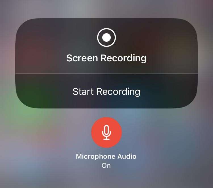Screen Recording with audio iOS