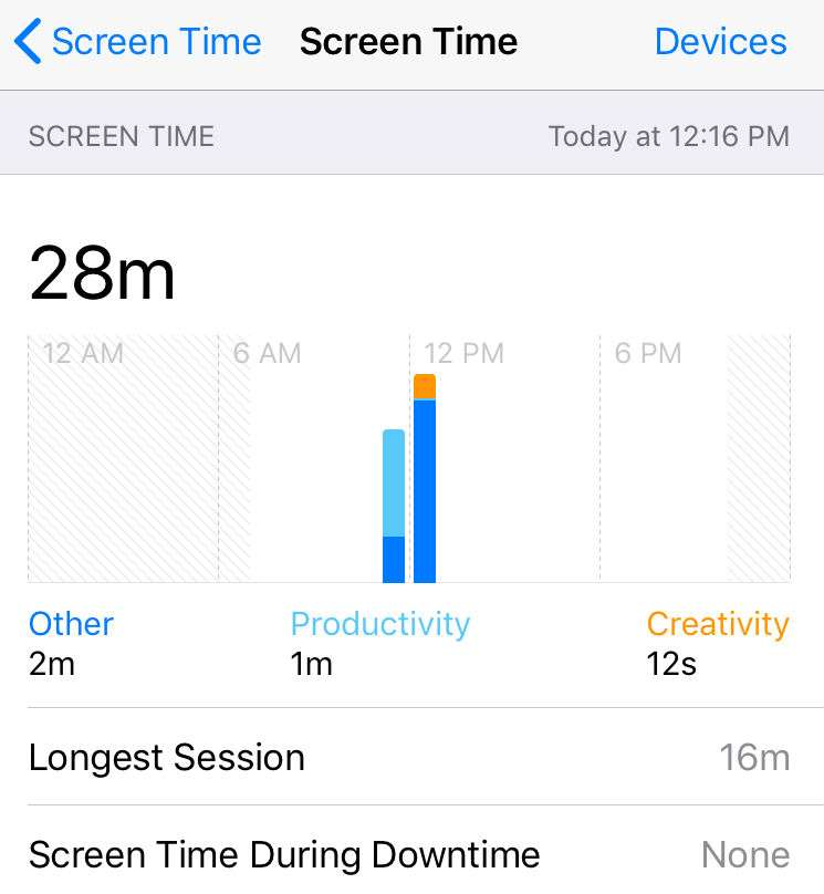 iOS Screen Time