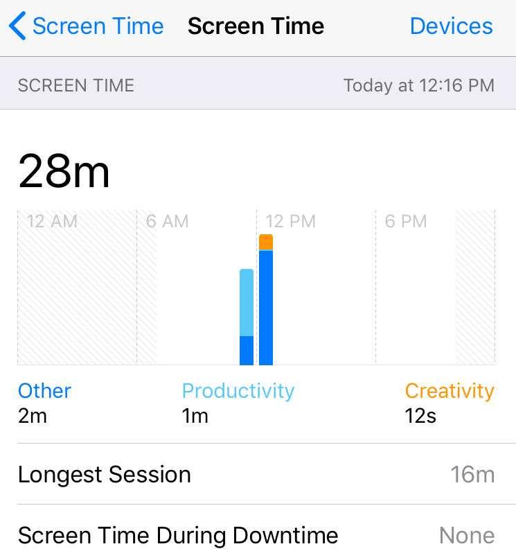 iOS Screen Time