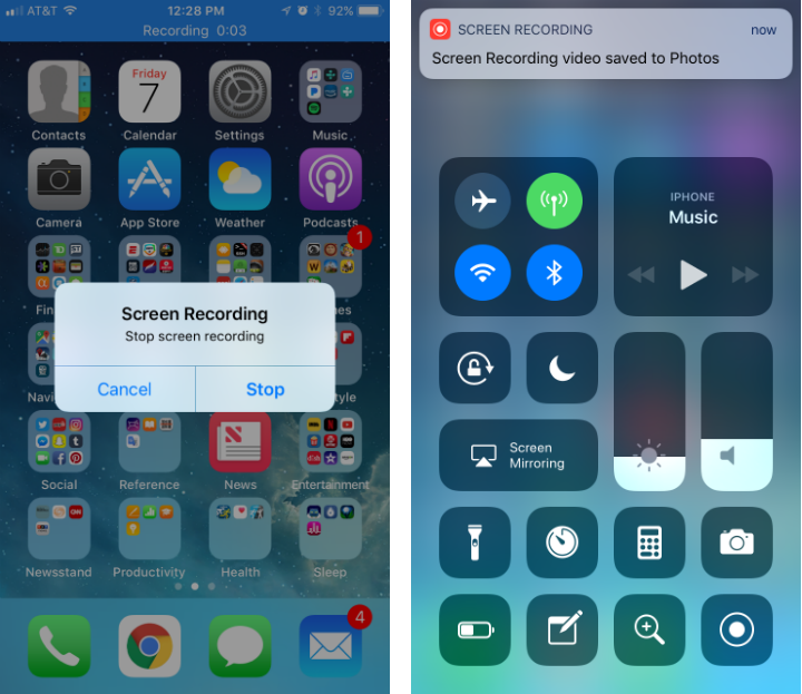 How to use screen recording for iPhone and iPad.
