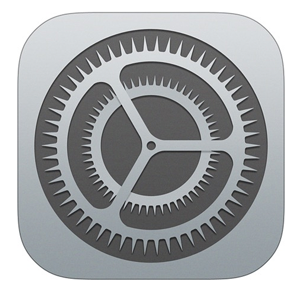 iOS Settings icon