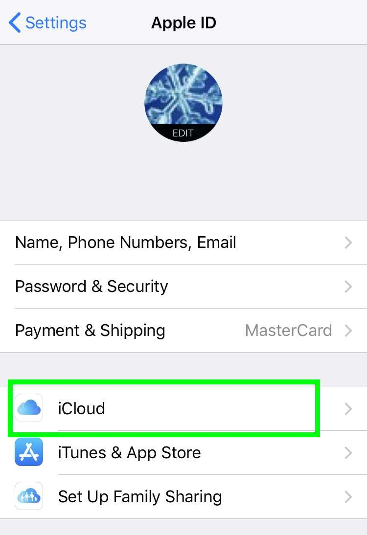 Share Reminders iCloud 6