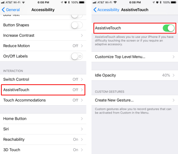 How to reboot your iPhone or iPad without Home and Sleep/Wake buttons.