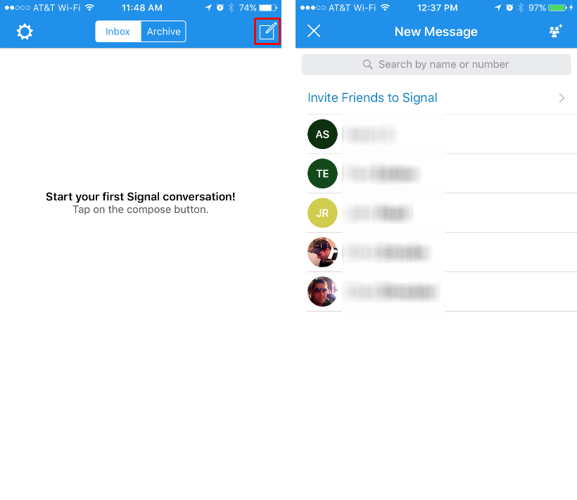 How to set up Signal Private Messenger on iPhone and iPad.