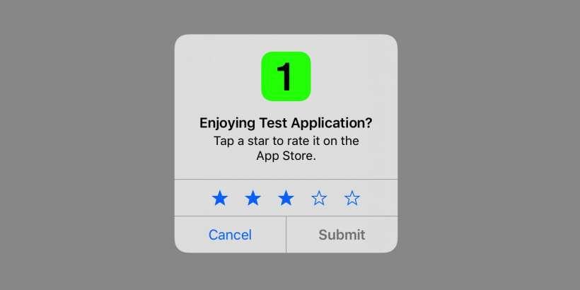 iOS 10.3 App Rating System