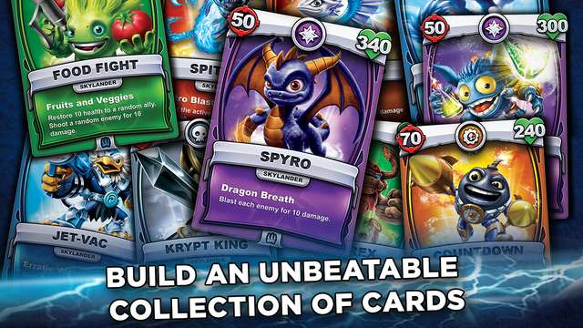 Activision launches Skylanders Battlecast to the Apple App