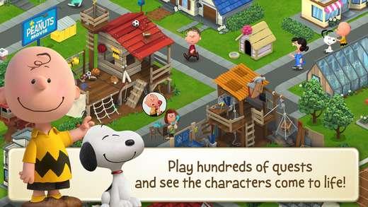 New iOS Apps, Games and JB Tweaks of the Week: Snoopy's Town