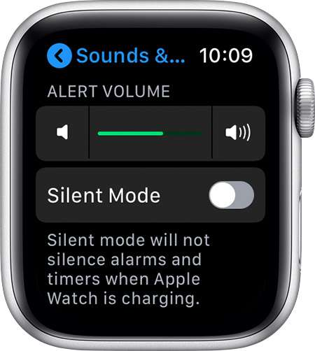 Apple Watch Silent Mode
