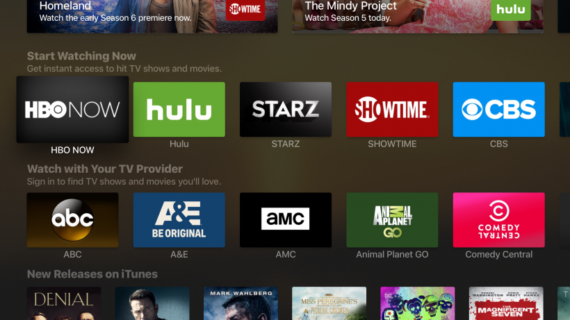 Apple TV content Single Sign-On