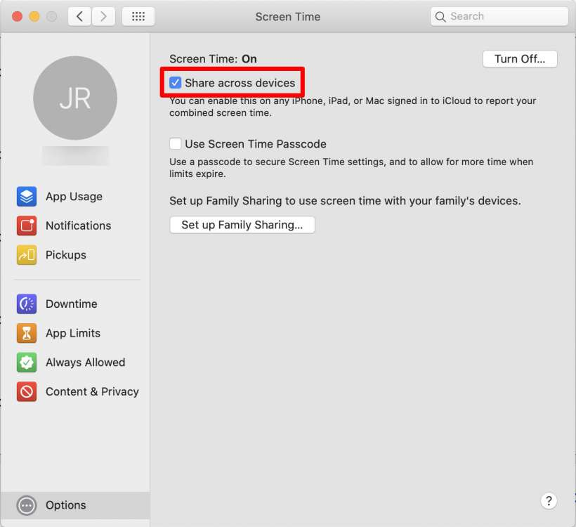 How to track iPhone, iPad and Mac Screen Time separately.