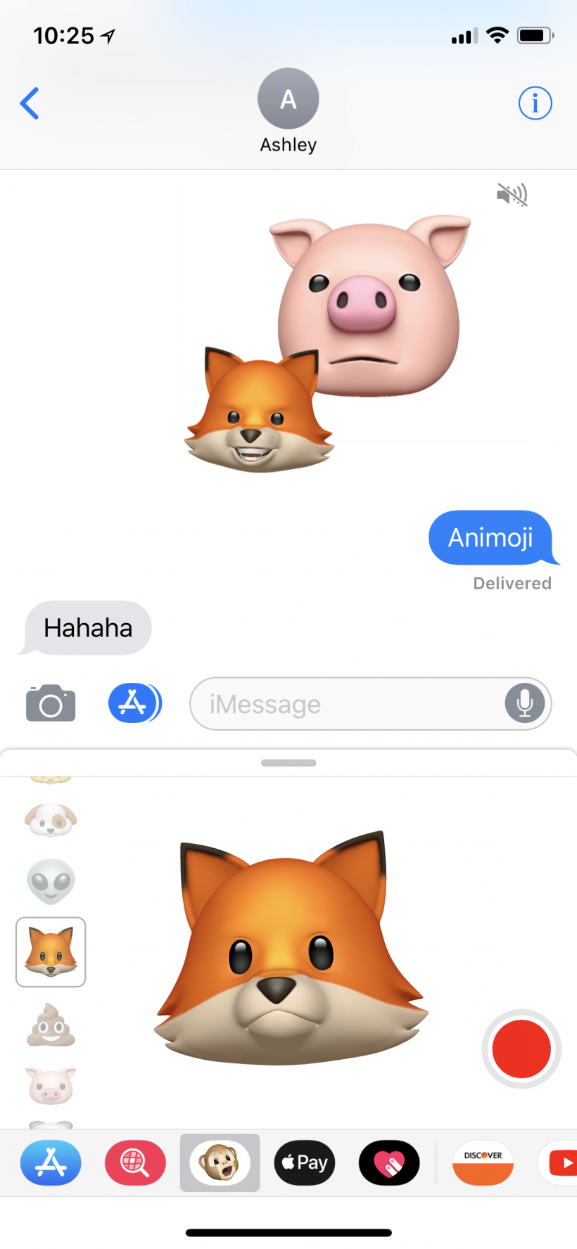 How to make Animoji stickers on iPhone X.
