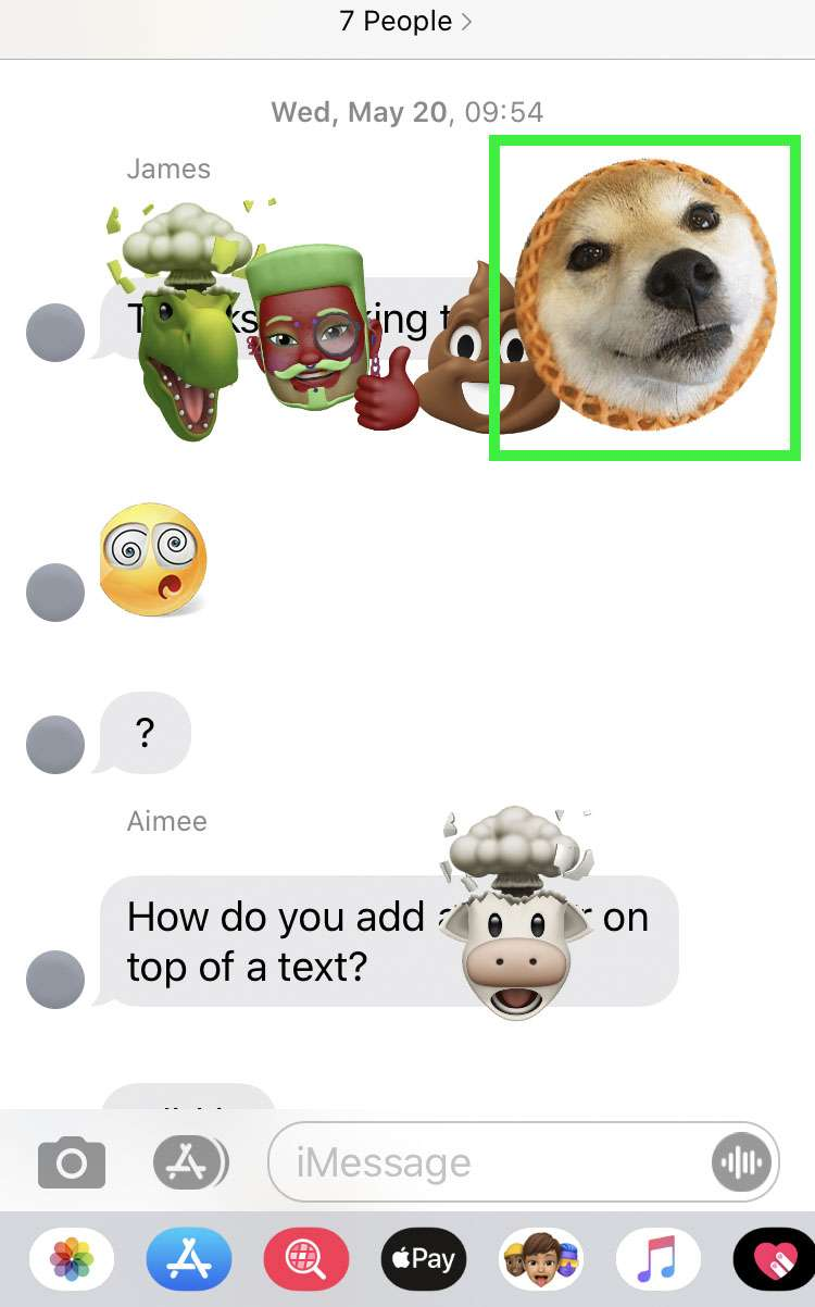 iMessage Stickers 1